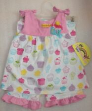 NEW Baby Girls Birthday CUPCAKE Top Set Size 18M NWT