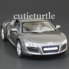 Kinsmart Audi R8 1:36 Diecast Toy Car Grey