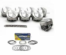 Chevy 7.4/454 Speed Pro Hypereutectic Coated 22cc Dome Pistons +MOLY rings +.060