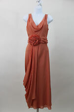 NEW Temperley London Coral Long Goddess Maxi Dress ANISHA SZ UK 14 US 10 NWT