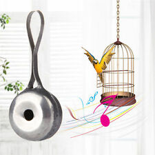 Stainless Steel Whistle for Bird Pigeon Parrot Pet Training Feeding Helper Toy