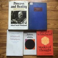 Lot of 5 Alfred North Whitehead Philosophy Occult Metaphysical Esoteric Esp