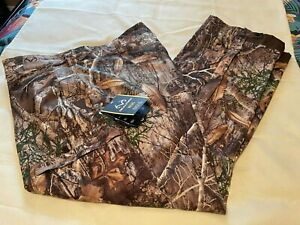 REALTREE EDGE Mens Windproof & Waterproof SCENT CONTOL PANTS-Size 2XL or 3XL-NWT