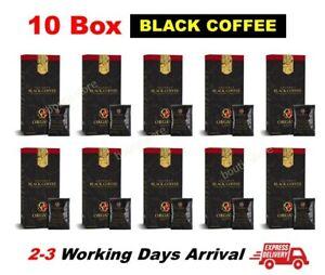 300 Sachets Organo Gold Gourmet Black Coffee 10 Box Organic Ganoderma Coffee