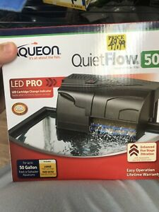 Aqueon Quietflow Power Filter 50. **Free Shipping** #SHOPSMALL
