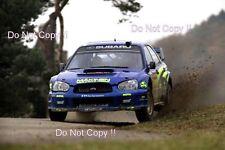 Tommi Makinen Subaru Impreza WRC2003 RAC Rally 2003 Photograph 2