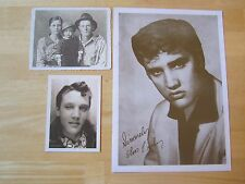 Lot of (3) Elvis Presley  Photo's, Tupelo in 1937, 1952-1954 Humes High School