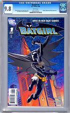 BATGIRL #1 CGC 9.8 *BATMAN & ROBIN NIGHTWING APPS* MCKENNA ART CLARKE COVER 2008