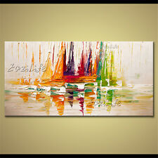 Hand-painted Oil paintings Modern Abstract Wall Art On Canvas Large Painting