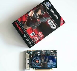 SAPPHIRE ATI Radeon HD 3650 512MB DDR4 128bit PCIe Excellent condition FULL BOX!