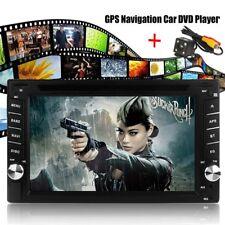 "6.2"" HD Autoradio 2 Din Car Stereo DVD Spieler Player GPS SAT NAV Camera +EU Map"