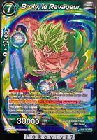 Carte Dragon Ball Super BROLY, LE RAVAGEUR SD8-02 ST DBZ FR NEUF