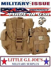 Military Issue USMC Coyote Molle II Canteen Cover Molle General Purpose Pouch