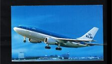 [HL052] Netherlands Card - Transport - Airplanes - KLM Airbus A-310