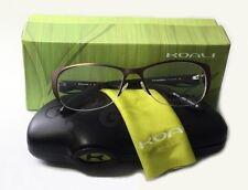 Koali Morel Eyeglasses 7053K 52/15/125 MM042 Brown Teal Frame Made in France