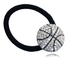 Basketball Sports Ball Charm Ponytail Elastic Hair Tie Holder for Girls hp43