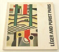 Leger ART EXHIBITION CATALOGUE   Leger and Purist Paris 1971