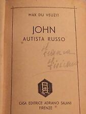 MAX DU VEUZIT - JOHN AUTISTA RUSSO 1940