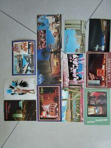 Vintage Lot of 12 Las Vegas Postcards Unused Mint Aladdin Circus Lido Stardust