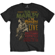 BOB MARLEY Rastaman Vibration Tour 1976 T-shirt OFFICIAL All Sizes The Wailers