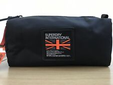 Superdry Unique Sample City Breaker Wash Bag - Black BNWT