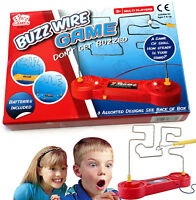 BUZZ Wire Skill Game Electronic Maze Birthday Present Gift School Fete Fair Fun