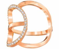 Swarovski Flash Ring 5240788 Size 55 (US Size 7) Rose Gold finish