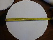 lot 10 ancien grand filtre en papier chiffon peinture  alimentaire set de table