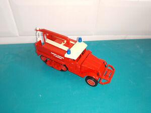 2706211 véhicule de sapeurs pompiers solido 1/50 Verem half track M3
