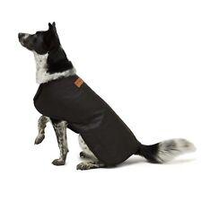 Didgeridoona's Dog Coat Waterproof Oilskin Outer Woolen Backed Size XXS