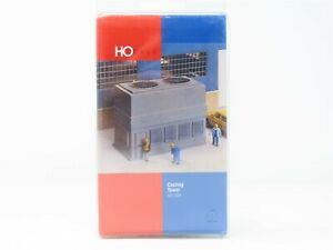 HO Scale Walthers Building Kit #933-3504 Cooling Tower - Sealed