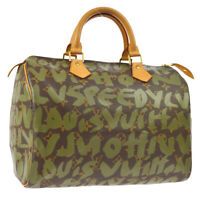 LOUIS VUITTON SPEEDY 30 HAND BAG MONOGRAM GRAFFITI M92194 A44031k