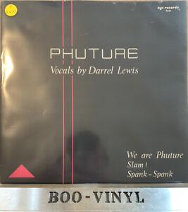 Phuture - We Are Phuture Rare German Press Dance Acid Vinyl Record Ex Con