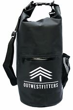 Outwestfitters Waterproof Floating Dry Bag Backpack 10L Bags for any Water Sport