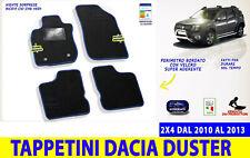1.gen ANNO 2010-2018 DACIA Duster tappetini 3d fussraumschalen Set