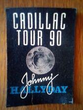 Johnny Hallyday tour 90 cadillac patch officiel 10/15 cm