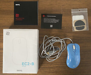 ZOWIE BenQ EC2-B DIVINA Blue Gaming Mouse RARE