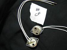 10x MR16 GU5.3 Socket Lamp Light Bulb Holder Panel Mount Fitting JobLot UK #CF