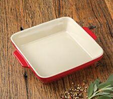 """Artisan Series Bakeware DA VINCI 11.5"""" Square Baking Dish for Cooking and Baking"""