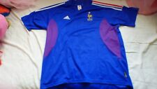 maillot de football Equipe de France adidas XL bleu collector