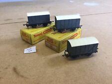 Triang TT Excellent Lot 24 T.71 Goods Vans X3 2 Boxed