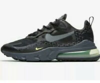 NIKE AIR MAX 270 REACT JUST DO IT CT2538 001 MEN'S TRAINERS UK 8.5  EUR 43 BLACK