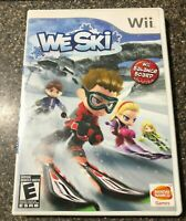 We Ski Wii (Nintendo Wii, 2008) Complete w/Manual - Tested - Free Shipping