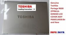Toshiba Portege R600 (PPR61A-029040) LCD COVER ASSY P000514930:Brand New