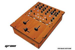 Skin Decal Wrap for RANE Sixty-One DJ Mixer CD Pro Audio Parts DJM CDJ GRAIN