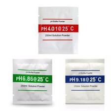 3x solution buffer PH - 4.01 6.86 9.18 - étalonnage phmètre calibrage hydroponie