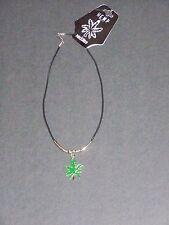 Mens Womens Hippies Cannabis Weed Marijuana HEMP Pot Leaf Charm Pendant Necklace