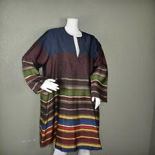Women's Dries Van Noten Multi Stripe Carina Baja Tunic Sz Small 2015 Collection