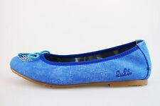 Mädchen schuhe LULU' 33 EU ballerinas blau segeltuch AG638-F