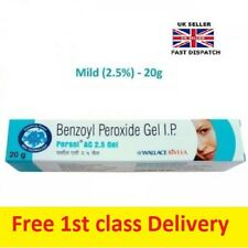 Benzoyl Peroxide Gel  2.5% -Treatment for Acne&Blemishes Spots uk seller